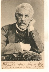 Sir Squire Bancroft Tuck Celebrities of the Stage Ser. PC # 686