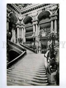 158310 France PARIS Opera House Staircase Escalier d'honneur