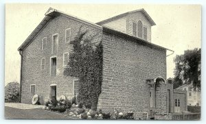 Postcard NJ Hamburg Old Stone Mill Walkill River Uneeda Bakers Wheatsorth F02