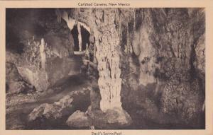 Devil's Spring Pool, Carlsbad Caverns, New Mexico, 1910-1920s