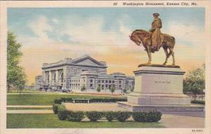Washington Monument Kansas City Missouri 1941
