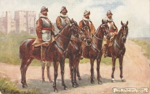 Harry Payne .The British Army. Bodyguard Edward VI TuckOikette PC # 9478