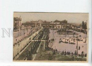 435667 Azerbaijan Baku Commune square monument to 26 Baku commissars Old tinted