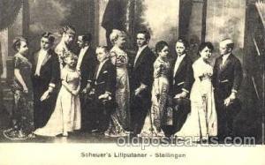 Scheuer's Liliputaner, Smallest Person, Midget, Midgets, Dwarf,  Circus Postc...