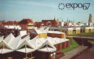 Interantional section On Ile Notre-Dame Expo 67 Montreal Canada