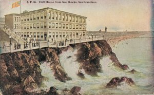 USA - Cliff House from Seal Rocks - San Francisco 03.52