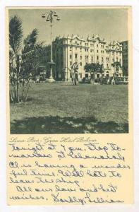 Lima - Peru, Grand Hotel Bolivar, PU-1954