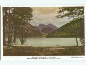 old rppc NICE VIEW Waterton Park - Near Lethbridge Alberta AB W0811
