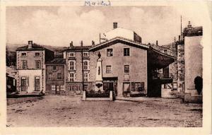CPA Maclas - Place de la Mairie (165867)