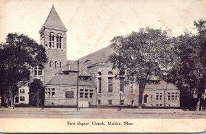 Massachusetts Malden First Baptist Church