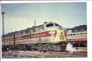 Railway Train, Delaware-Lackawanna, Western Railroad, Scranton Pennsylvania