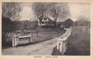 CONWAY, Massachusetts, 1900-1910s; Fairview
