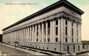 New York Albany State Education Building 1913