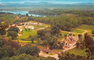 Cassville Wisconsin Birdseye View Of City Vintage Postcard K62143