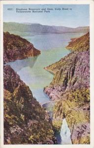 Wyoming Yellowstone National Park Shoshone Reservoir And Dam Cody Road To Yel...