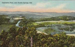 Arkansas Eureka Springs Inspiration Point Curteich