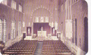 Interior Church Of Saints Peter and Paul Hobken New Jersey