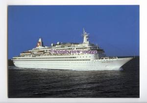 LN0754 - Fred Olsen Liner - Black Watch , built 1972 - postcard