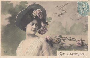 RP: Female Head portrait , 00-10s , Bon Anniversaire