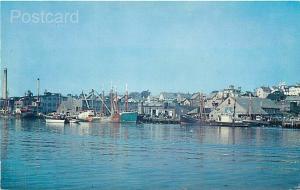MA, Gloucester, Massachusetts, Inner Harbor, Curteichp No. P2277