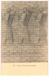 Perse, Frise des Immortels, Persian Wall of the Immortals, Iran, 00-10s