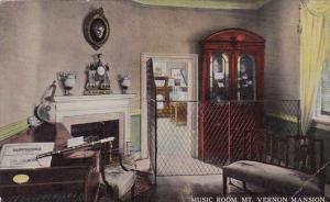 Virginia Mount Vernon Music Room