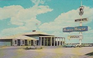 New Mexico Roswell Hiway House Motor Hotel 1965