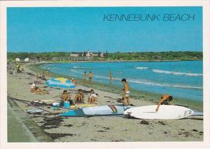 Maine Kennebunk Beach Scene