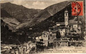 CPA Luceram Nouvelle Route de Peira-Cava et Cime du Rocaillon (617319)