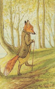 The Tale Of Mr Tod In Woods 1912 Beatrix Potter Postcard