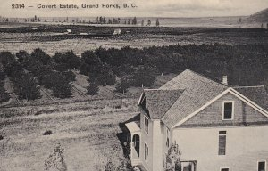 GRAND FORKS , B.C. , Canada , 00-10s ; Covert Estate