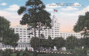 BILOXI , Mississippi, 1930-40s ; Edgewater Gulf Hotel