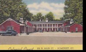 Kentucky Somerset Colonial Court Curteich