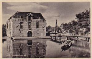 Netherlands Delft Armamentarium Real Photo