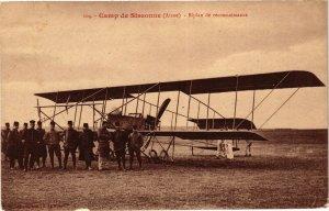 CPA Camp de SISSONNE Biplan de reconnaissance (156079)