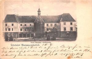 Switzerland Old Vintage Antique Post Card Grof Szapary Varkastely Postal Used...
