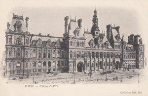 Paris, France,1910-1920s, L'Hotel de Ville