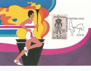 1984 Summer Olympics , Los Angeles , California , Torch