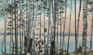 MOOSEHEAD LAKE , Maine , 00-10s; Steamer at boat landing