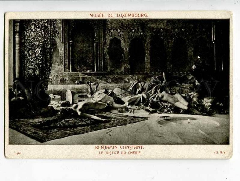 260735 NUDE Death SLAVE Female by BENJAMIN CONSTANT Vintage PC