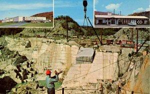 VT - Barre. Rock of Ages Granite Quarry