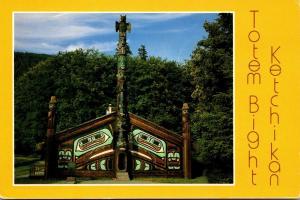 Alaska Ketchikan Totem Bight Totem Pole 2005