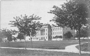 F53/ Kearney Nebraska RPPC Postcard 1908 State Teachers College