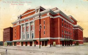MA - Boston. New Opera House