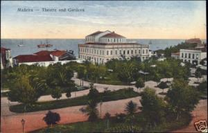 portugal, MADEIRA, Funchal, Theatre and Gardens (1910s)
