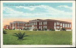 Port Arthur, Tx., High School (1930s)