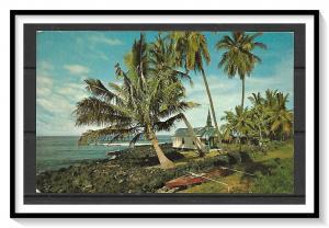 Hawaii - Kona Coastline - St Peter's Church - [HI-010]