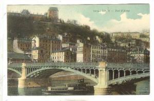 Bridge, Pont d'Ainay, Lyon (Rhône), France, PU-1919