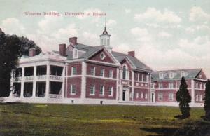 Illinois Champaign-Urbana Womans Building University Of Illinois 1909