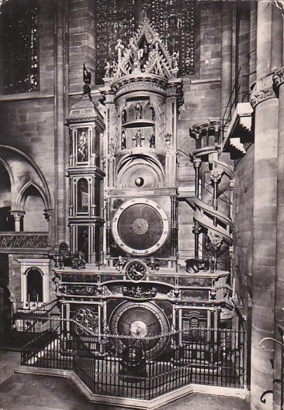 France Strasbourg L'Horloge Astronomique de la Cathedrale